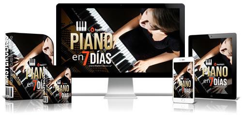 Aprender Piano en 7 Días Curso Online
