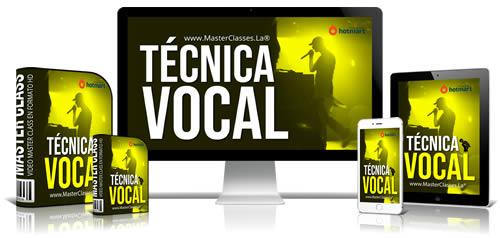 Técnica Vocal Curso Online
