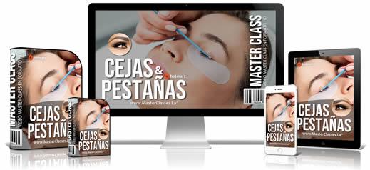 Cejas y Pestañas Curso Online