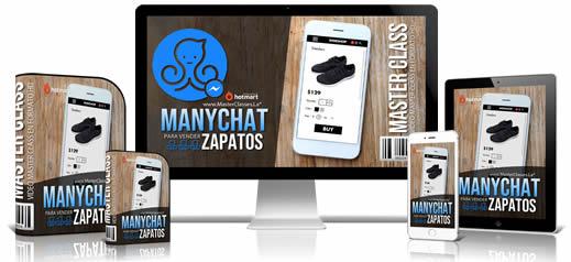 Manychat Para Vender Zapatos Curso Online