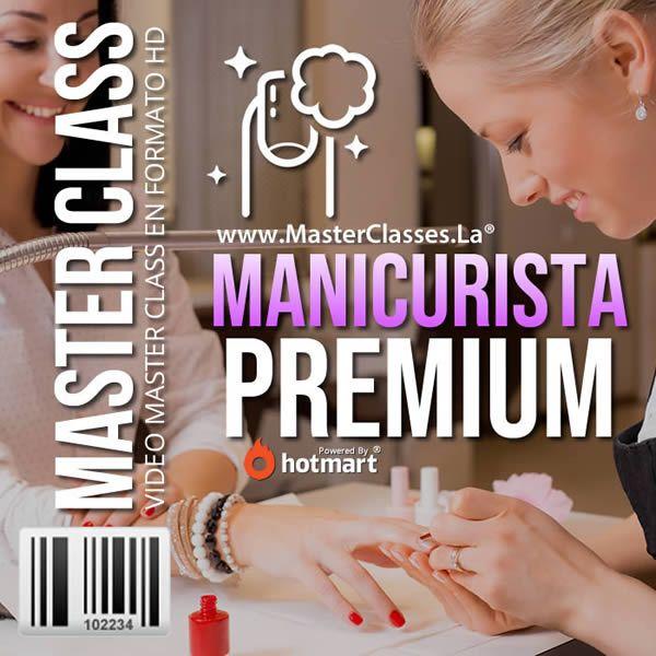 Aprender Manicure con Manicurista Premium