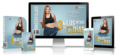 3 Kilos Menos en 7 Días Curso Online