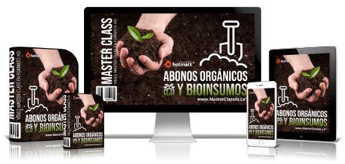 Abonos Orgánicos y Bioinsumos Curso Online