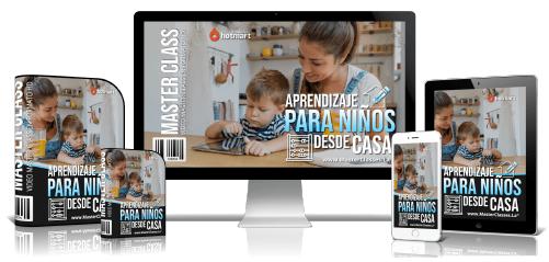 Aprendizaje Para Niños Desde Casa Curso Online