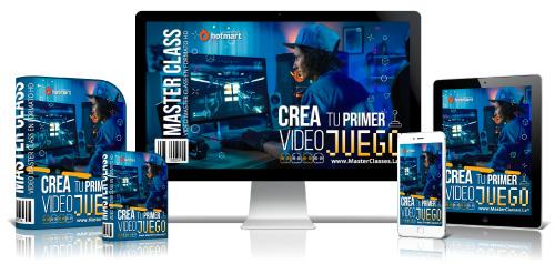 Cómo Crear tu Primer Videojuego Curso Online