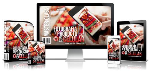 Fotografía de Producto con Celular Curso Online