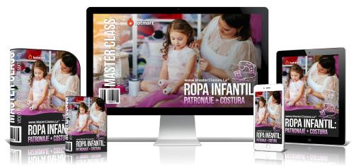 Patronaje y Costura de Ropa Infantil Curso Online