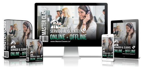 Servicio al Cliente Online y Offline Curso Online