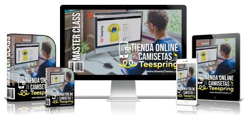 Tienda Online de Camisetas con Teespring Curso Online