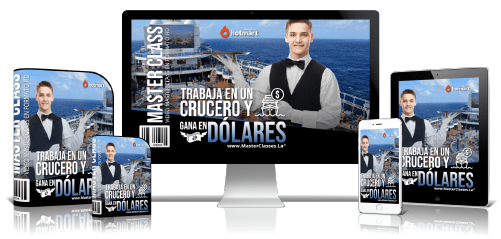 Trabaja en un Crucero y gana en Dólares Curso Online