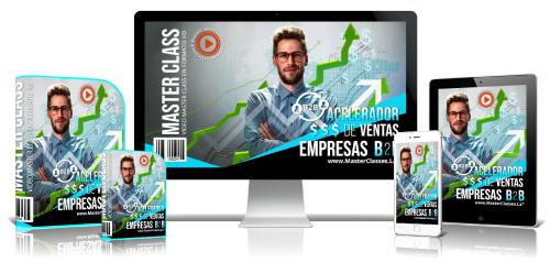 Acelerador de Ventas Empresas B2B Curso Online