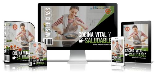 Cocina Vital y Saludable Curso Online