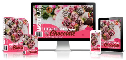 Fresas Artísticas Con Chocolate Curso Online