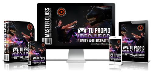 Tu Propio Videojuego Con Unity + Illustrator Curso Online