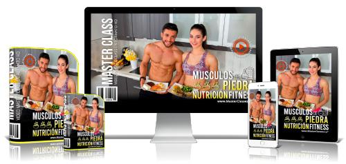 Nutrición Para Tener Músculos de Piedra Curso Online