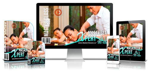 Técnicas de Masajista Xpert Curso Online