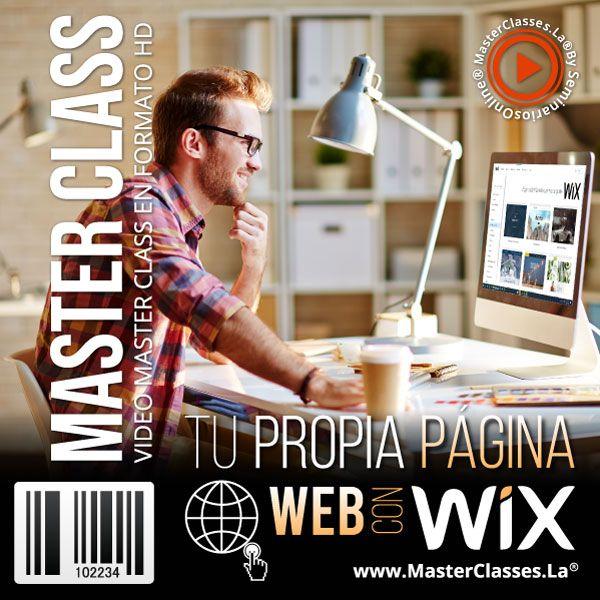 Tu Propia Página Web Con Wix Curso Online