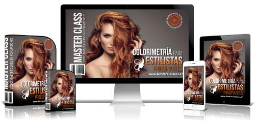 Colorimetría Para Estilistas Curso Online