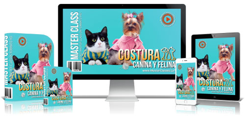 Costura Canina y Felina Curso Online