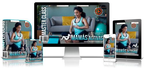 Mamas Activas Post-Parto Curso Online